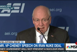 Cheney: Deal won't prevent 'nuclear Iran'