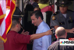 Ted Cruz boxed out of Kim Davis media stunt