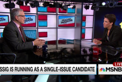 Lessig to campaign on campaign finance only