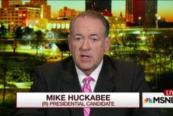 Huckabee: Jesus did talk about same-sex...