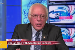 Will Sanders ever address foreign policy?