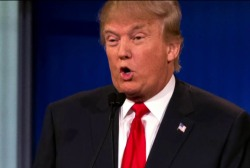 Trump calls for TV network to donate profits