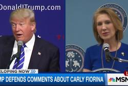 Fiorina on Trump: I'm getting under his skin
