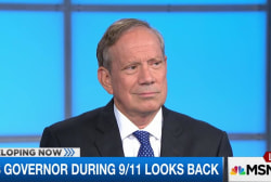 NY's governor during 9/11 looks back