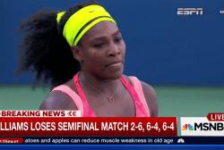 Serena Williams loses in US Open semis