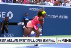 Serena Williams' upset at US open
