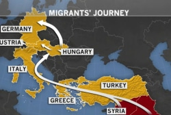 Migrant crisis shows no sign of ending