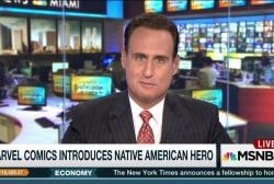 Marvel Comics introduces Native American hero