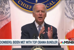 Report: Biden met with top Obama Bundler