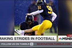 Kent State kicker makes history