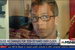 Muslim teen arrested over clock