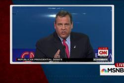Christie cuts off debating millionaires