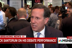 Santorum breaks from GOP on minimum wage