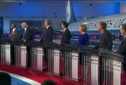 How do GOP candidates feel about the Iran...