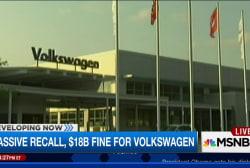 Massive Recall for Volkswagen