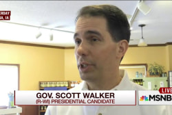 Scott Walker responds to dismal poll numbers