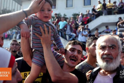 Reporter faces refugee crisis everyday