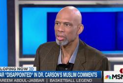 Kareem Abdul-Jabbar on Dr. Ben Carson