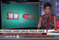 Outrage over drug price hike