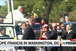 Pope in Washington wields power to influence