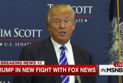 Trump's newest FOX News Twitter fight