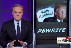 Trump: Hillary Clinton's the original birther
