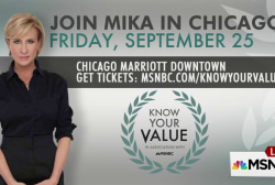 Join Mika for the next Know Your Value
