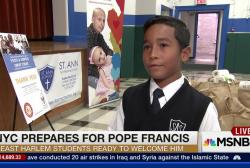 Harlem school prepares for visit from Pope