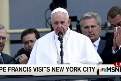 Is more riding on Francis' address to the UN?