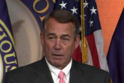 Boehner: 'It's been an honor to serve'