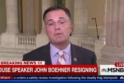 House Speaker John Boehner resigns