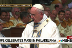 Pope delivers homily in Philadelphia