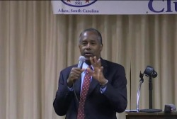 New poll shows Carson one point behind Trump