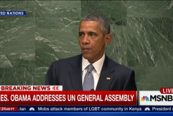 Full speech: President Obama addresses UN