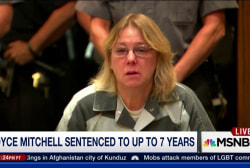Joyce Mitchell sentenced to 7 years