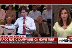 Rubio climbs in NBC poll