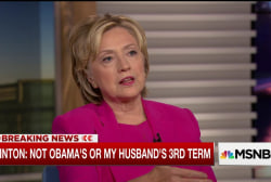 Clinton on Trade, Abortion and Obama