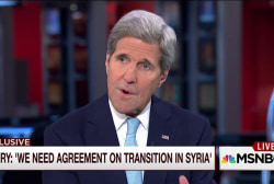 Secretary Kerry: Not too late to save Syria