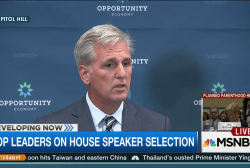 Kevin McCarthy speaks at GOP presser