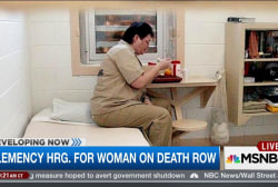 Clemency hearing for woman on death row