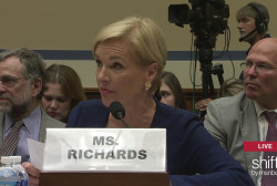 Richards responds to provided tax returns