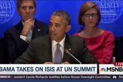 Obama takes on ISIS at UN summit