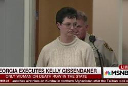 Georgia executes Kelly Gissendaner