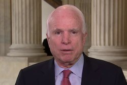 McCain: Russia's intentions were perfectly...
