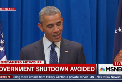Government shutdown averted by House bill