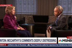 Clinton: McCarthy's Comments 'Deeply...