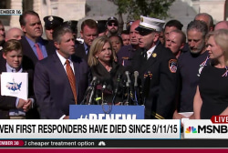 Congress makes 9/11 responders beg for help