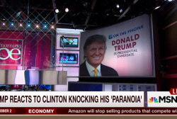 Trump: I am surprised by Hillary's tone