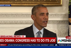 Obama: 'Congress has to do its job'