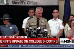 Sheriff announces names of Umpqa victims